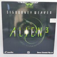 """Alien 3"" Special Widescreen Edition Laserdisc LD - Sigourney Weaver""Alien 3"""