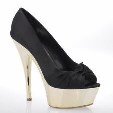 "New Look Textile Stiletto Very High (greater than 4.5"") Women's Heels"