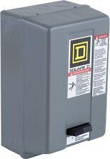 Square D 8536SDG1V03 240V 3P 15HP Size 2 Magnetic Motor Starter