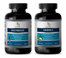 Parasite cleanse for adults - GRAVIOLA – ANTI PARASITE COMBO 2B - graviola sours
