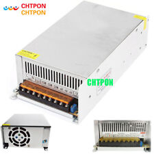 DC Power Supply 12V 50A 600w Led Driver Transformer AC110V 220V to12v dc Power