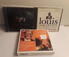 Lot of 3 Louis Armstrong CDs: Songbook, Gold Collection, All-Time Greatest Hits