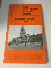 OLD ORDNANCE SURVEY MAP OF STOCKPORT SOUTH 1934