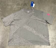 Adidas J EQT Kids Cotton T-Shirt JR Grey Pink Equipment Support SZ M ( BQ3998 )