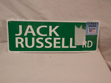 Jack Russel Rd Street sign New