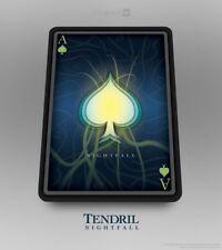 CARTE DA GIOCO TENDRIL NIGHTFALL,poker size,EDIZIONE LIMITATA