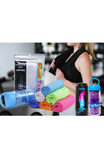 (Pack Of 5) Fitness Cooling Artifact Ice Cooling Sports Magic Towel