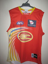 GOLD COAST - GARY ABLETT JNR HAND SIGNED JERSEY UNFRAMED + PHOTO PROOF &  C.O.A