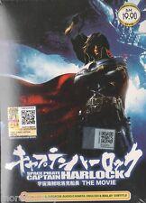 DVD Space Pirate Captain Harlock The Movie + Bonus 1 Free Anime