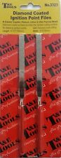 IGNITION POINTS FILE NEW DIAMOND COATED  (pack of 2)  T&E TOOLS QUALITY CHEAP