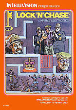 Lock 'N' Chase Intellivision Brand New Factory Sealed