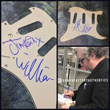 William Jim Reid * THE JESUS AND MARY CHAIN * Signed Electric Pickguard AD1 COA