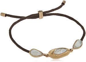 New The SAK Women's Set Stone Slider Leather Bracelet nwt #SAK62
