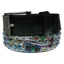 PF08 Pyramid Studded Polyurethane Leather Adult Jeans Wear UK Seller Belts