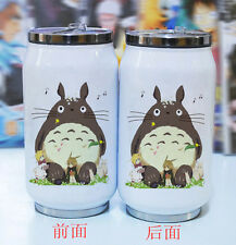 Anime My Neighbor Totoro Can Bottle Vacuum Coffee Cup Thermal Stainless Steel