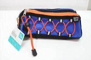 Pen + Gear Pencil Pouch Blue & Orange