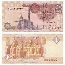 Egypt 1 Pound 2016 Replacement (Prefix 700)  P-New Banknotes UNC