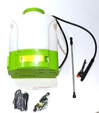 4 Gallon Tank Cordless 12 Volt Battery Operated Electric Backpack Garden Sprayer