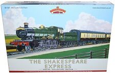 BACHMANN OO 30-525 THE SHAKESPEARE EXPRESS SPECIAL COLLECTORS EDITION PACK *NEW*
