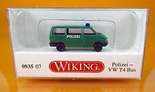 Wiking 093507 Volkswagen VW T4 Bus Polizei Scale 1 160 NEU OVP Nenngröße N