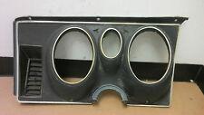 71' 72' 73' Ford Mustang  Mach I instrument cluster bezel panel black