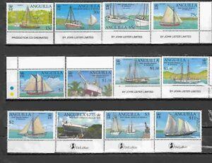 ANGUILLA 2003 SHIPS