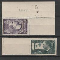 FRANCOBOLLI - 1937 FRANCIA C.30+3 FR. MERMOZ MNH E/1597