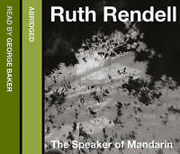 The Speaker of Mandarin by Ruth Rendell (3CD)  audio book
