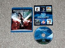 Resident Evil: Apocalypse Blu-ray Canadian Milla Jovovich Sienna Guillory