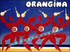 Orangina Dancing Vintage Poster Print Retro Syke Orange Drink Advertising Art