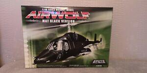 Airwolf Aoshima Supercopter Black Edition