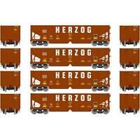 Athearn HO Ready to Run 40' OB Ballast Hopper Load HZGX #1 (4)