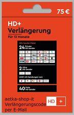HD+ Plus Verlängerung 12 Monate für Alle Karten