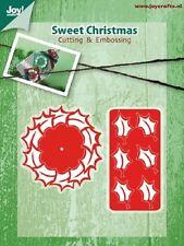 JOY CRAFTS Die Cutting & Embossing Stencil  SWEET CHRISTMAS WREATH 6002/2039