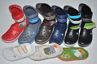 NWT CROCS CROCBAND ESPRESSO brown KHAKI GREEN 4 5 6 7 8 9 10 11 12 13 CLOGS shoe