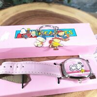 Peanuts Snoopy & Woodstock Watch and Charm Gift Set F3069661 Clocks Worldwide