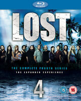 Lost: The Complete Fourth Series Blu-ray (2008) Naveen Andrews cert 15 6 discs
