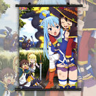 Kono Suba Aqua Megumin Yunyun Wiz Anime Wall Art Poster Scroll Home Decoration