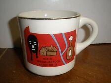 VINTAGE HTF Boy Scout Mug WWW Susquehannock Lodge No. 11