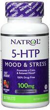 NATROL, 5-HTP Schnell Auflösen Stimmungsstress 100mg 30 Tabletten SUPER PREIS