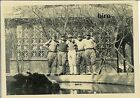 Japan Army old photo Imperial 1942 Pacific War Military Soldier pond Friend