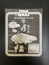 Vintage Star Wars Millennium Falcon Instructions Palitoy ANH 1977 Millenium