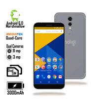 "4G LTE GSM Unlocked 5.6"" Android SmartPhone (QuadCore @ 1.3GHz + 1GB RAM) Black"