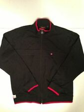 Quiksilver Black Zip Front Jacket Boys XL 20 Windbreaker Coat Skate Surf Ski