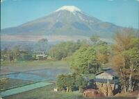 Japan Air Lines  Advertising Destinations Mt Fuji mid Spring Posted 1965
