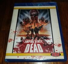 Empire State of the Dead Blu-ray 2017 SRS Cinema Exclusive Limited 100 made