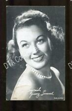 GINNY SIMMS-ARCADE CARD-1950-AMAZING G/VG