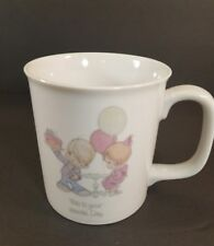 """Vintage Precious Moments Coffee Cup Mug 1984 """"This is your Special Day"""" New with"""