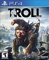 Troll and I (Sony PlayStation 4, 2017) BRAND NEW FACTORY SEALED MAXIMUM  PS4