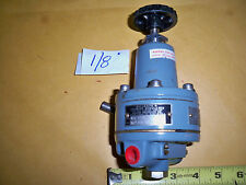 "`1/8"" Air Regulator Nullmatic Mod. 40-450 High Presure New Old Stock"